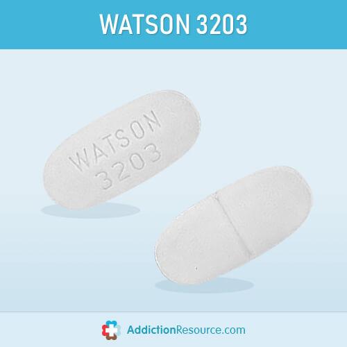 WATSON 3203 White pill