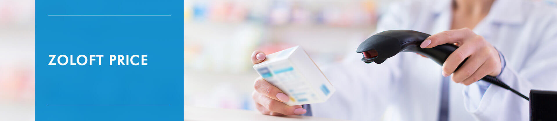 Pharmacist scanning product