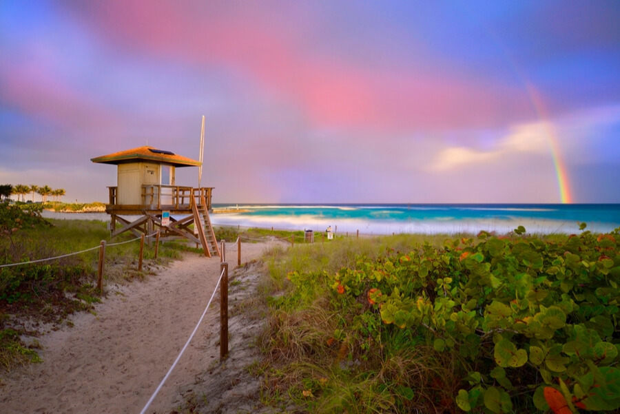 Boca Raton beach, Florida