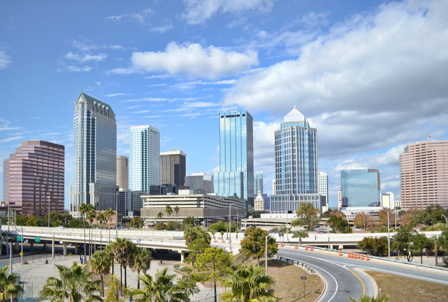 Downtown Tampa, FL, USA
