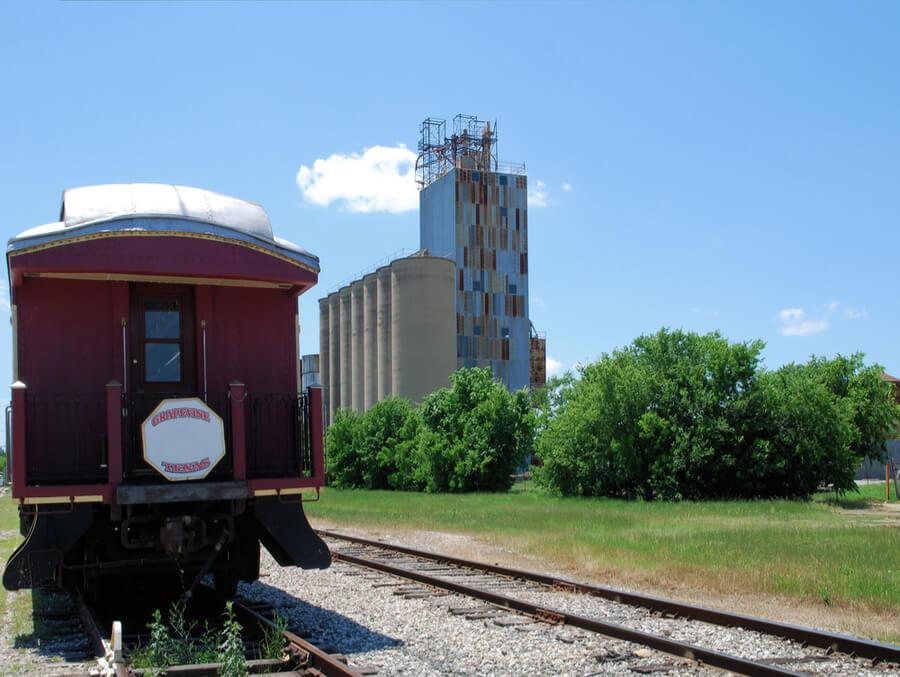 Grapevine Railway in Grapevine, Texas