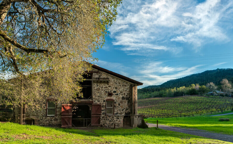 Jack London State Park in Glen Ellen, California