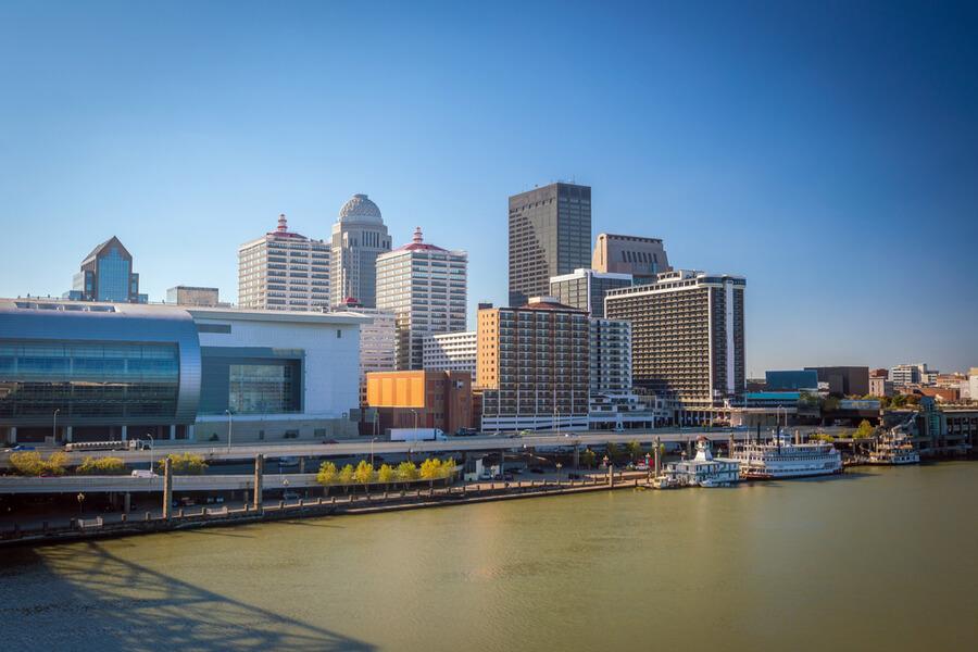 Louisville in Kentucky