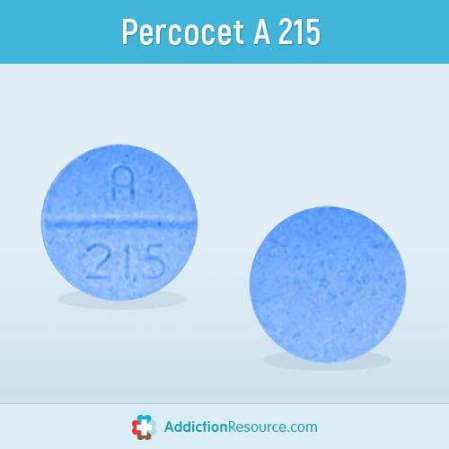 Percocet A 215