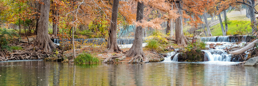 River In Hunt Texas Hill Country