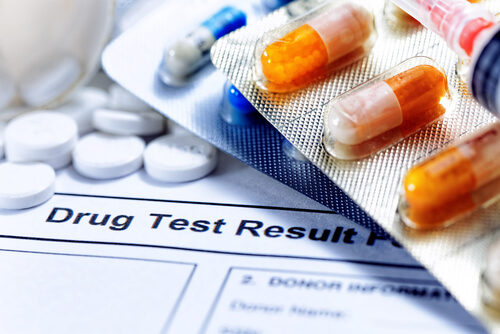 medications pills and drug test report