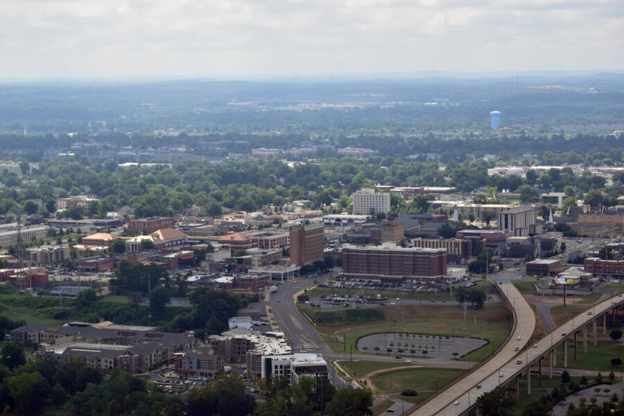 Aerial Tuscaloosa, Alabama
