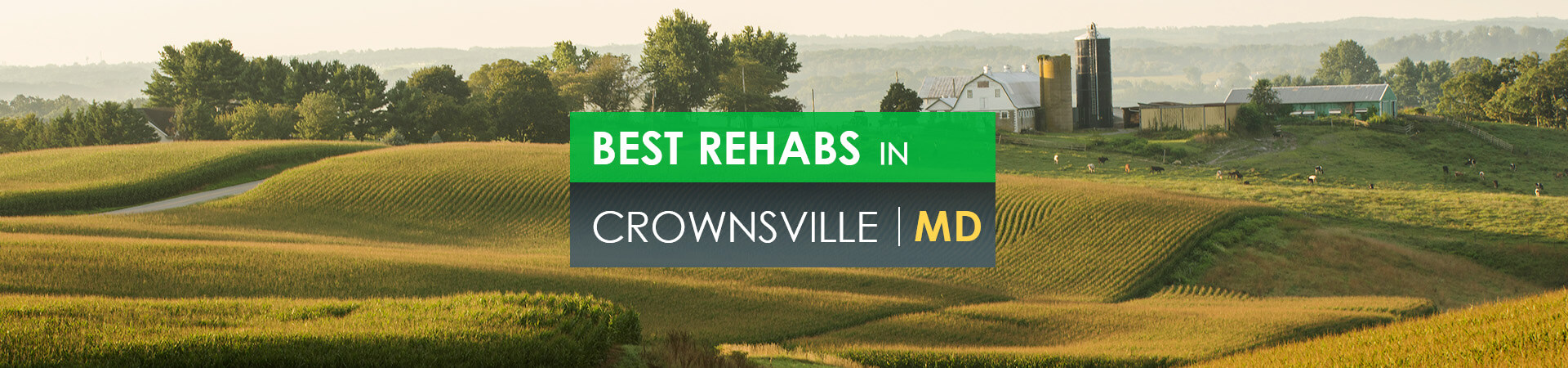 Best rehabs in Crownsville, MD