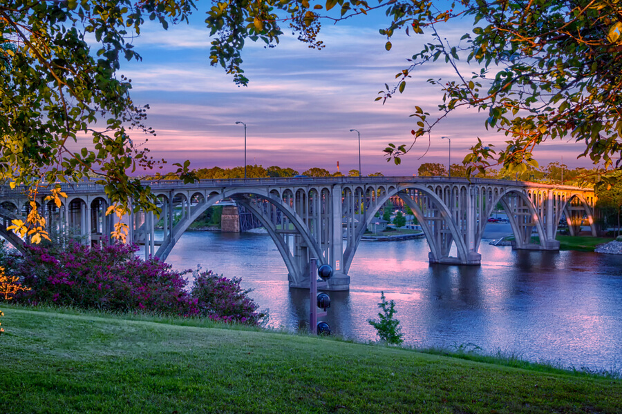Broad Street Bridge in Gadsden, Alabama