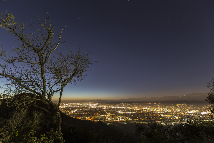 Burbank and North Hollywood in Southern California