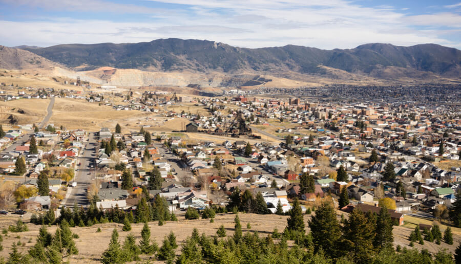 Butte Montana Downtown