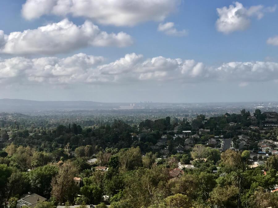 California foothills Santa Ana