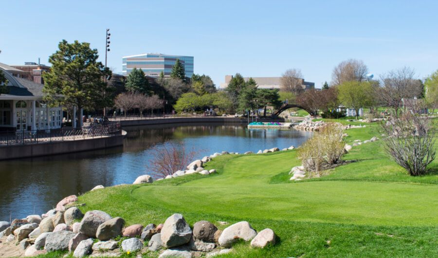 Centennial Lakes Park Edina, Minnesota