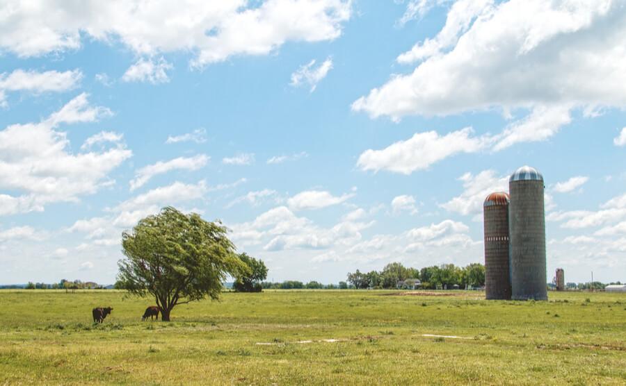 Classic Oklahoma landscape