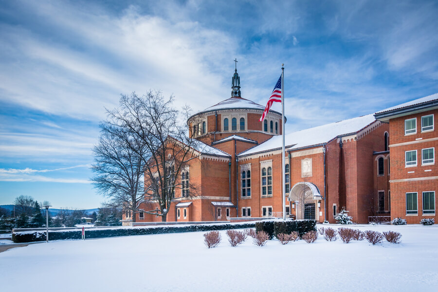 National Shrine of Saint Elizabeth Ann Seton in Emmitsburg, Maryland.