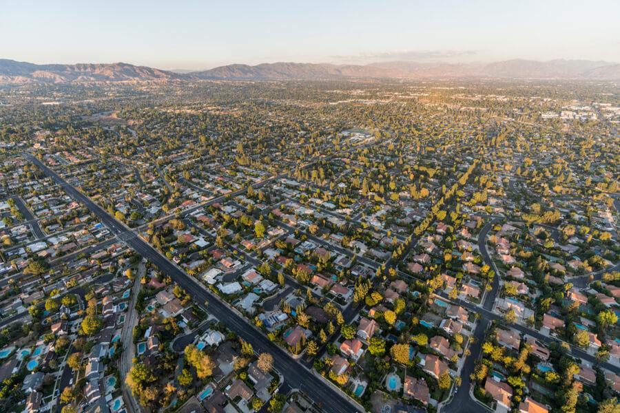 Northridge community in the San Fernando Valley
