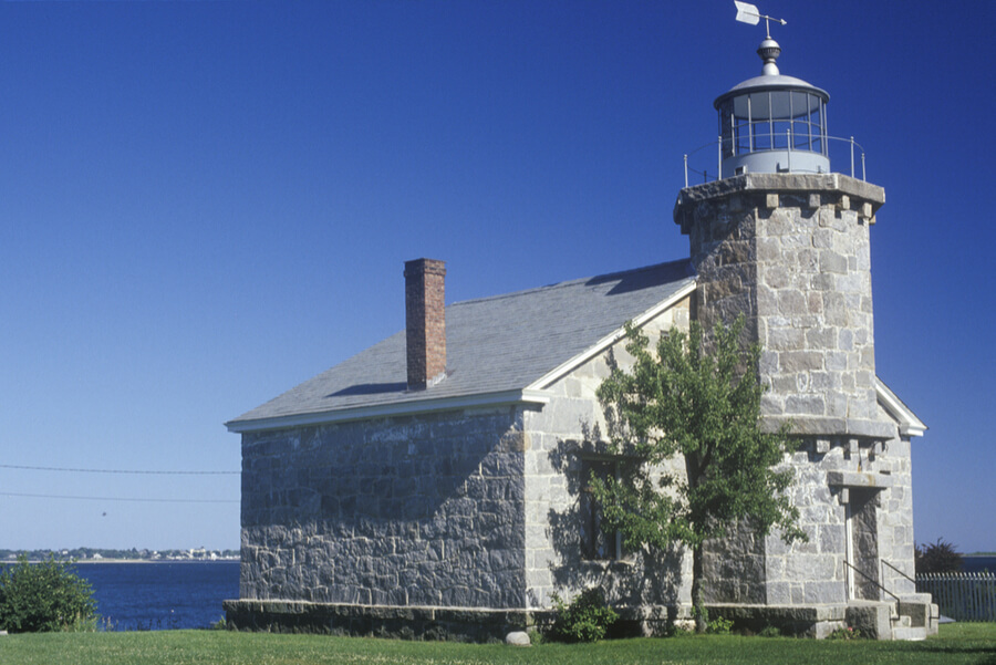 Old Lighthouse Museum in Stonington, CT
