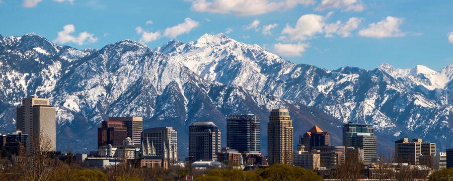 Salt Lake City panoramic
