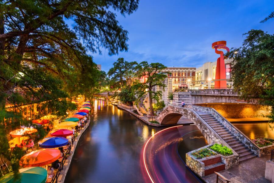San Antonio, Texas, USA cityscape