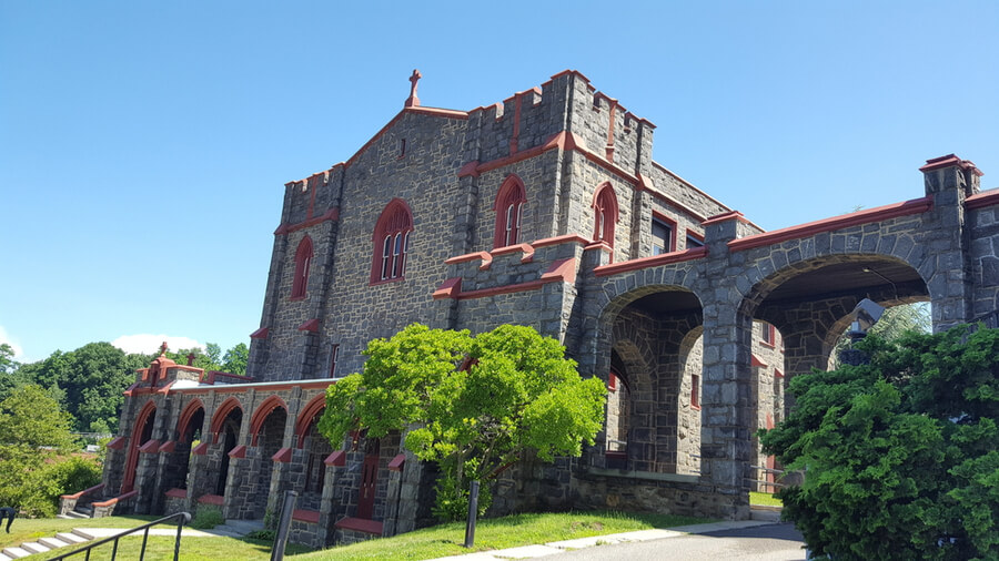 St. Patrick's Cathedral in Glen Cove, NY