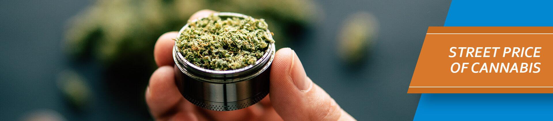street price of cannabis