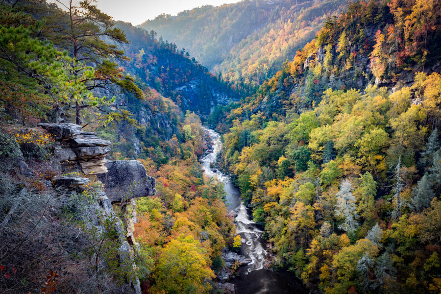 Tallulah Gorge in Georgia, USA