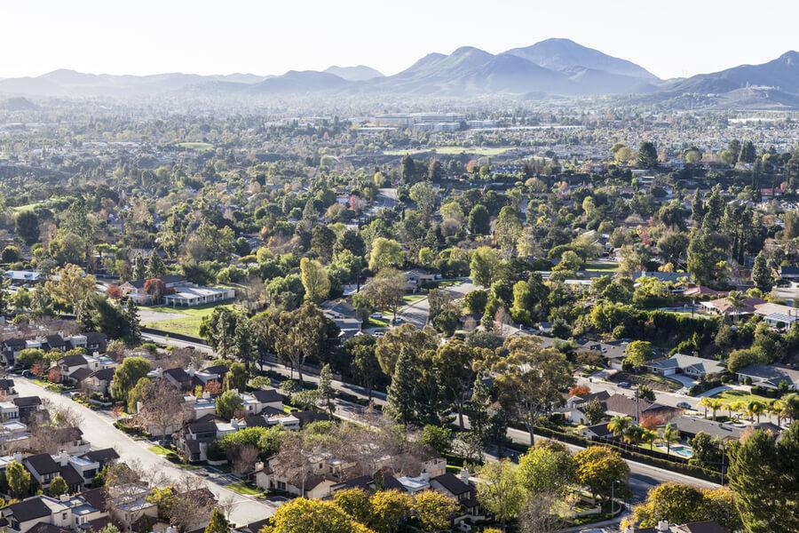 Thousand Oaks and Newbury Park near Los Angeles, California