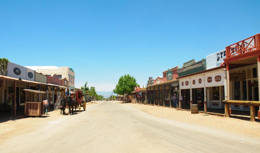 Tombstone main street