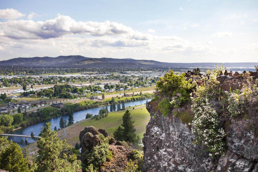 View Above Spokane Valley