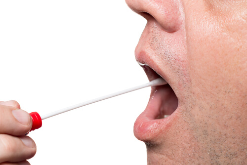mouth swab saliva drug test