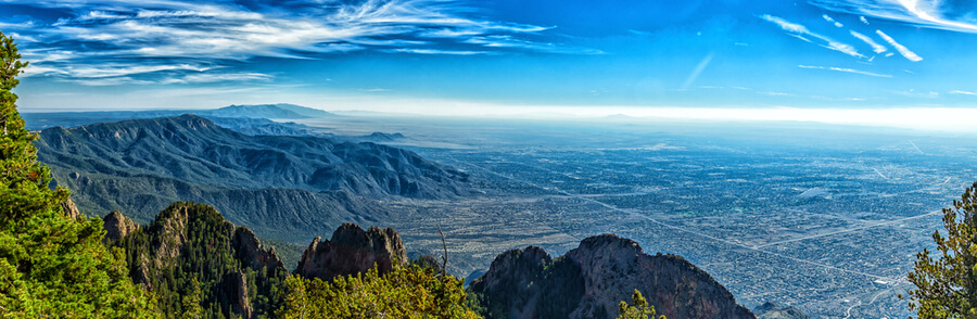 A view of Albuquerque, New Mexico