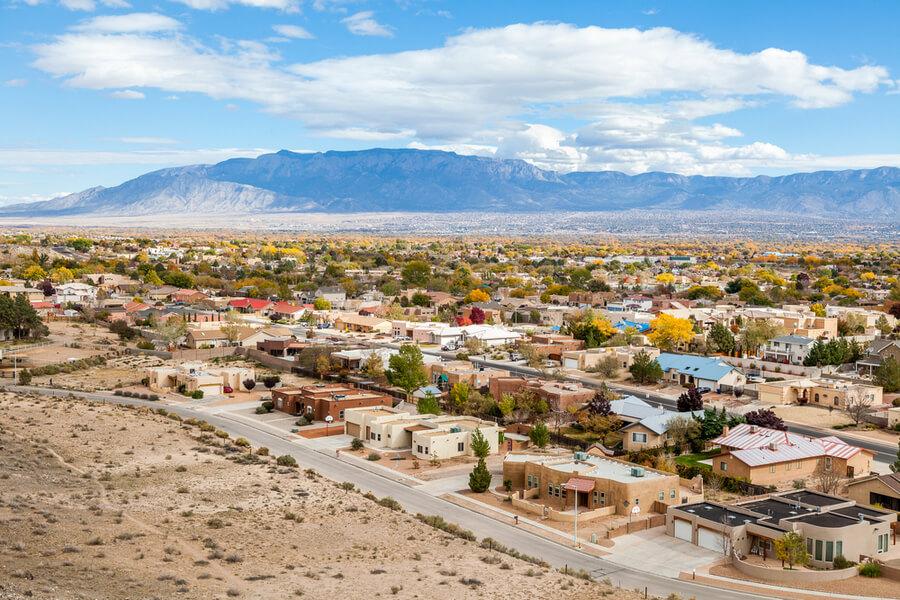 Albuquerque residential suburbs