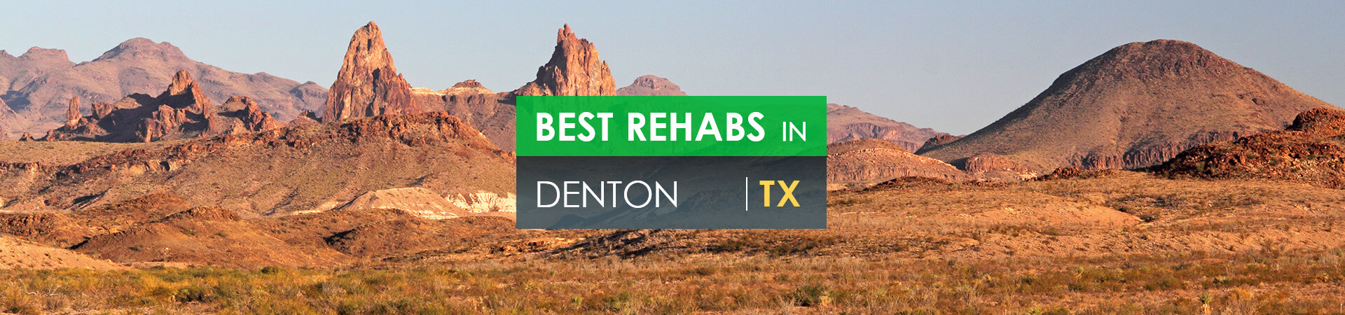 Best rehabs in Denton, TX