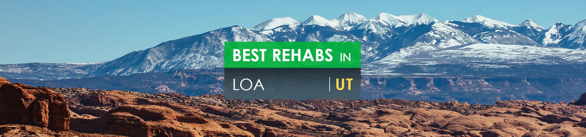 Best rehabs in Loa, UT