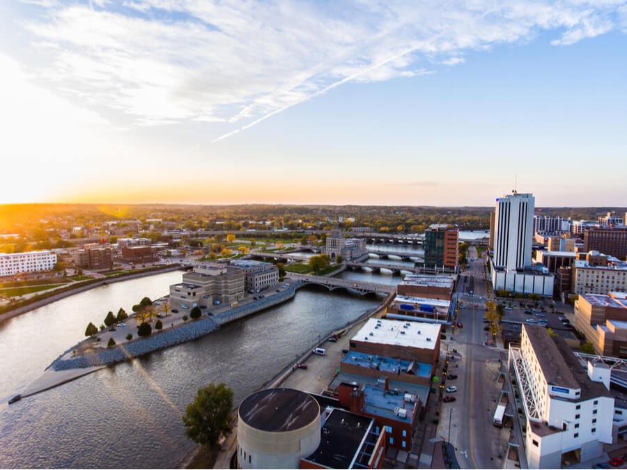 Cedar Rapids Skyline