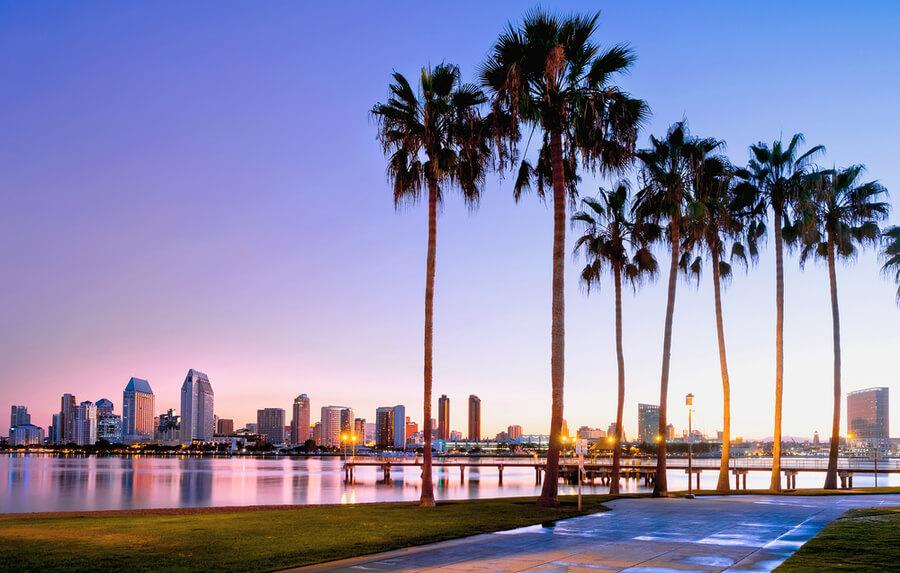 Coronado Island. San Diego, California USA