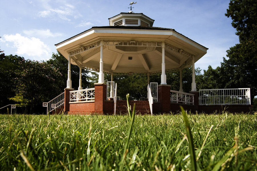Gazebo in Haggard Park, Downtown Plano, TX