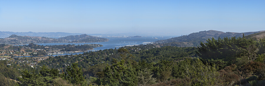 Mill Valley Panorama View