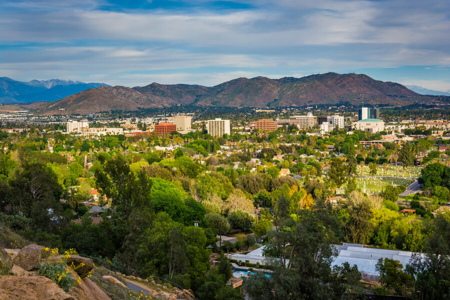 Mount Rubidoux Park, in Riverside, California