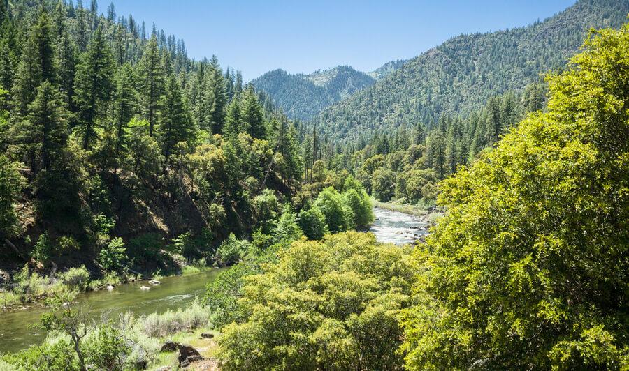 Scott River valley, CA, USA