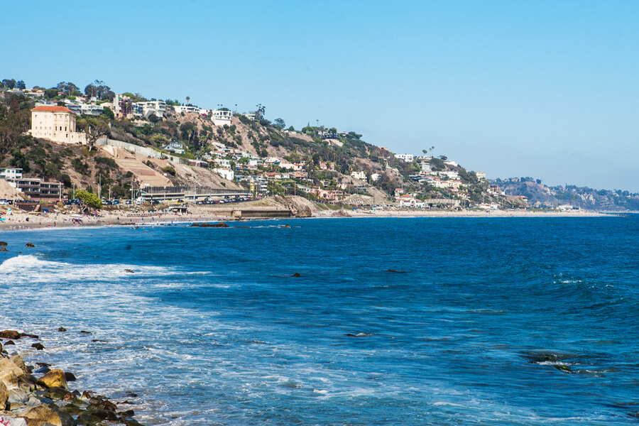 Shore in Malibu