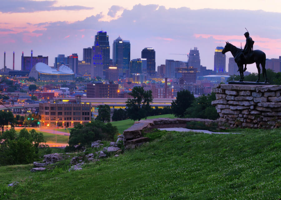 View of Kansas City, Missouri