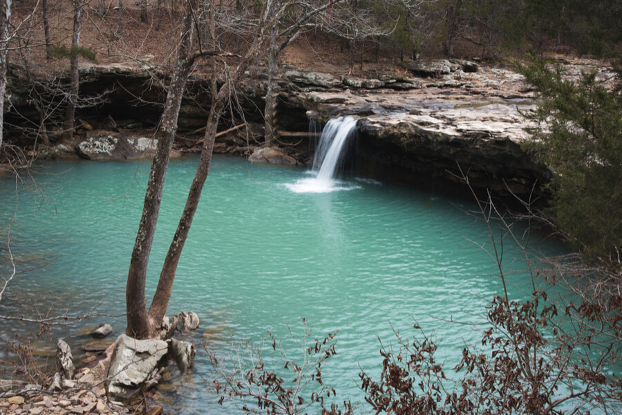 Waterfall in Arkansas