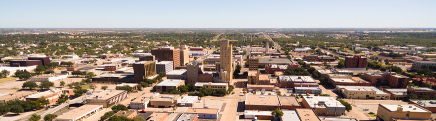 view of Lubbock Texas