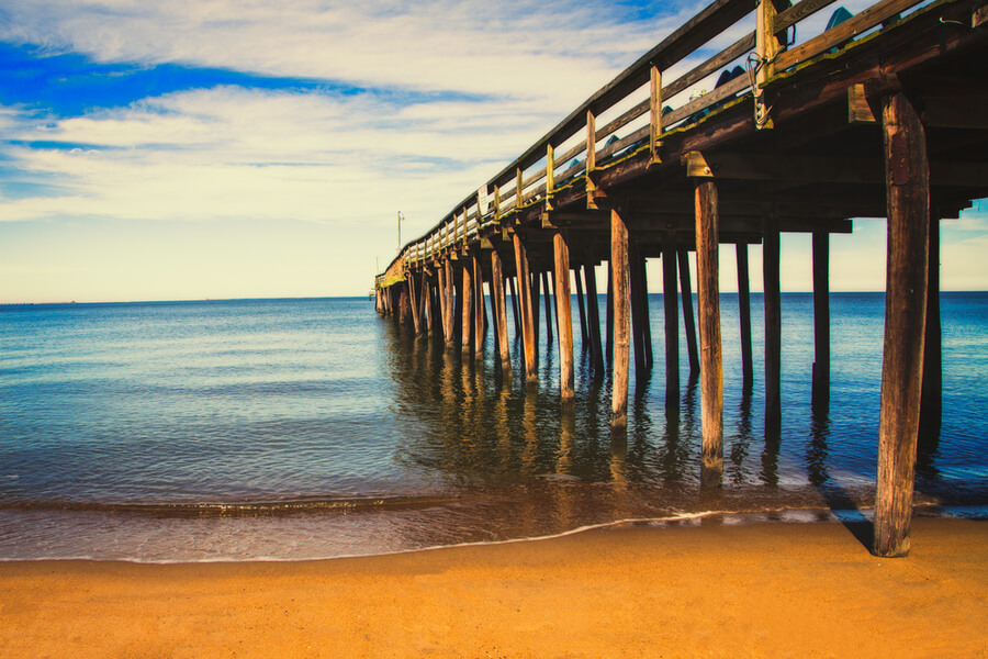15th Street Pier in Virginia Beach, Virginia