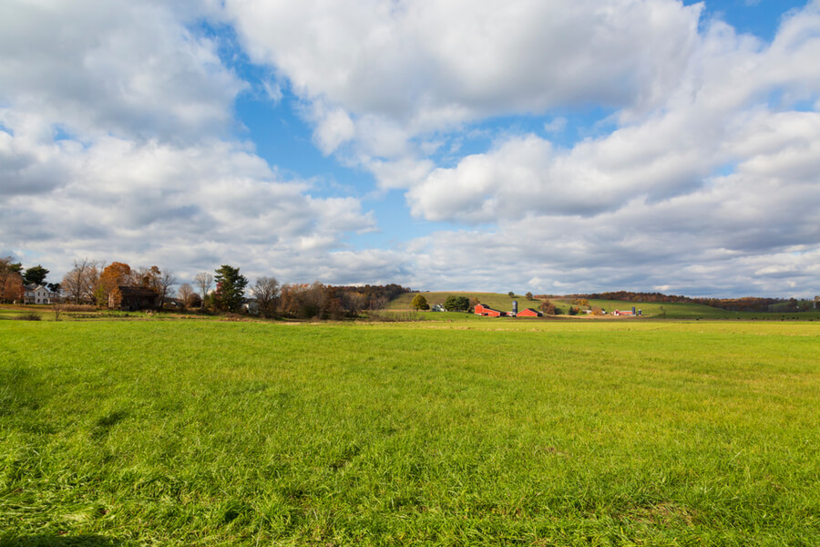 An Ohio country side landscape