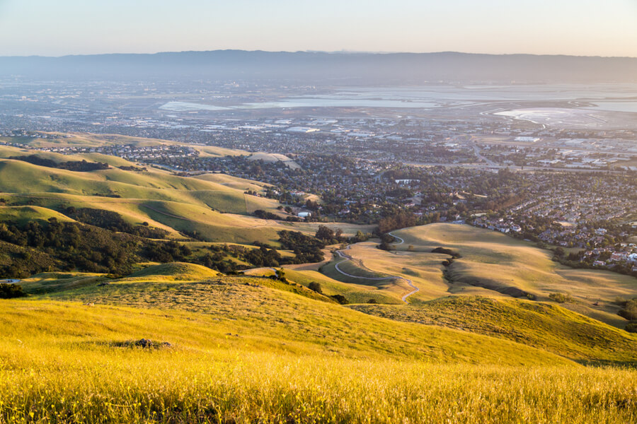 Mission Peak in Fremont California