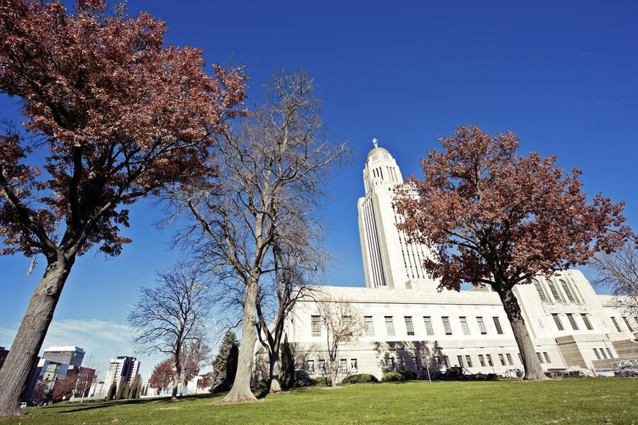The Nebraska State Capitol Building