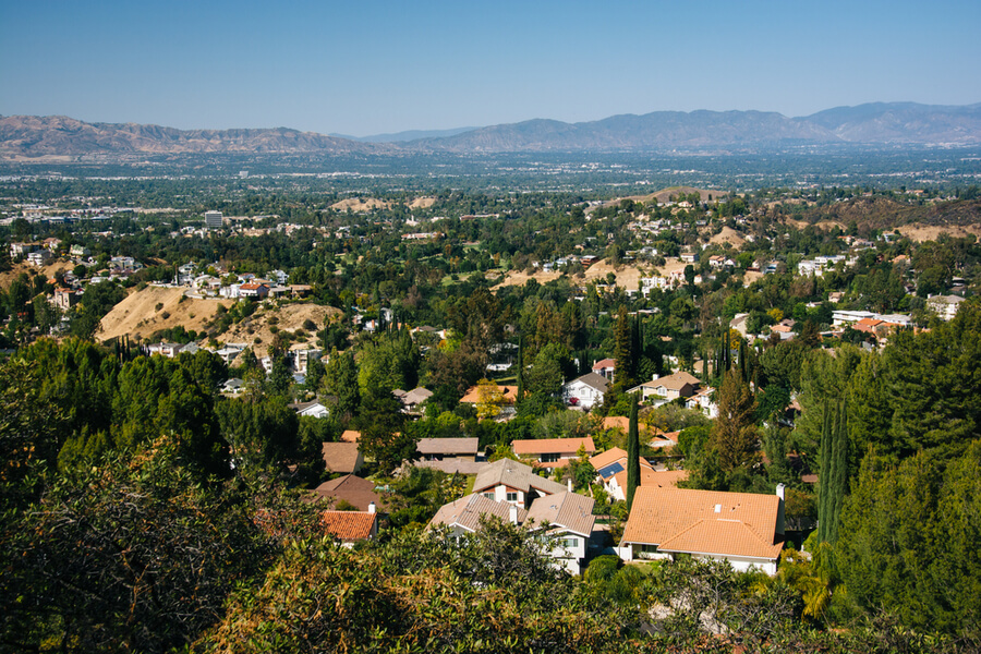 Topanga Overlook, in Topanga, California