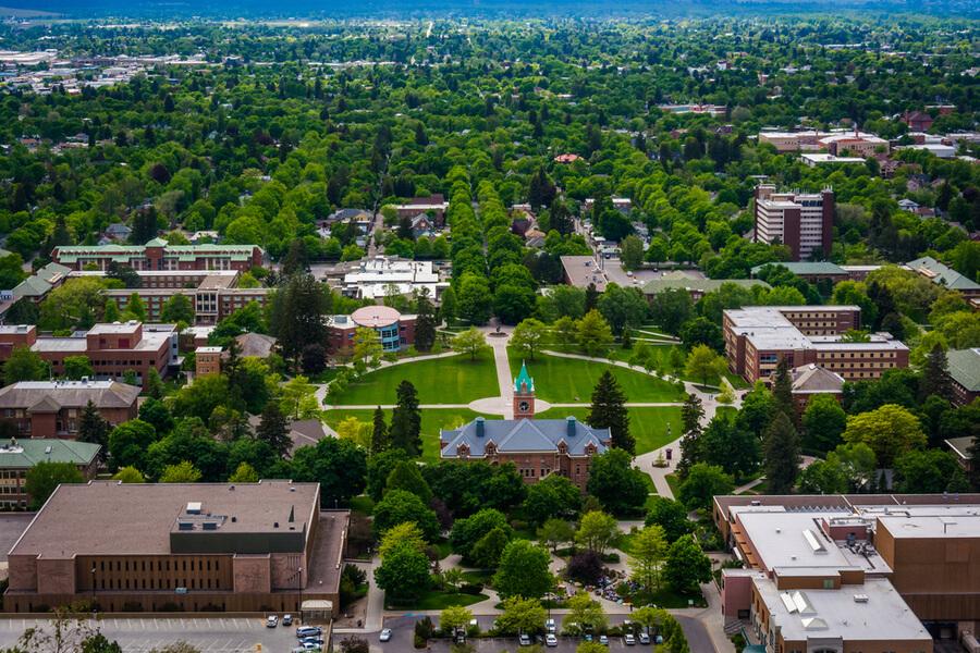 View of University of Montana